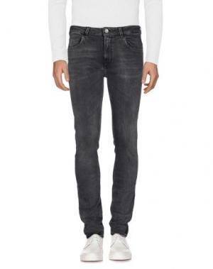 Джинсовые брюки HAIKURE. Цвет: свинцово-серый