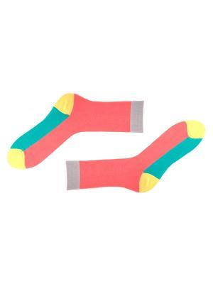 Носки Sammy Icon. Цвет: розовый, желтый, голубой