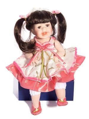 Кукла коллекционная Розалина Русские подарки. Цвет: белый, черный, бежевый