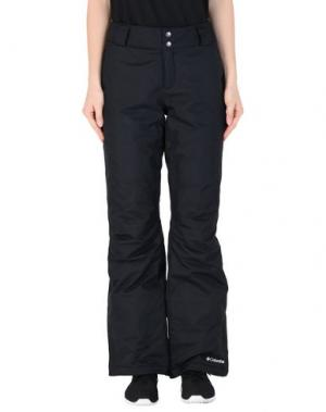 Лыжные брюки COLUMBIA. Цвет: черный