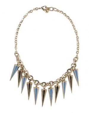 Ожерелье LULU FROST. Цвет: небесно-голубой