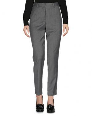 Повседневные брюки WOOD. Цвет: серый
