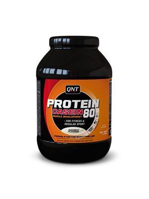 Протеин PRO 80 (кокос), 750 г QNT. Цвет: черный, оранжевый, белый