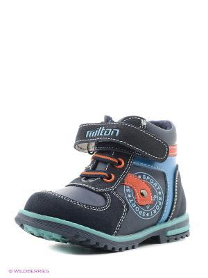 Ботинки Milton. Цвет: темно-синий