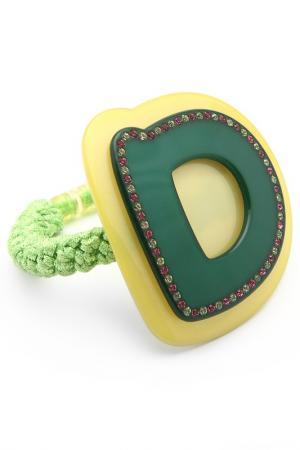 Резинка Chaplet. Цвет: зеленый