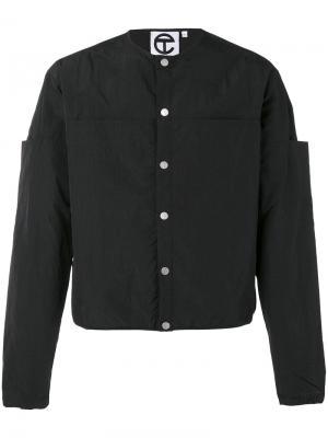 Куртка без воротника Telfar. Цвет: чёрный