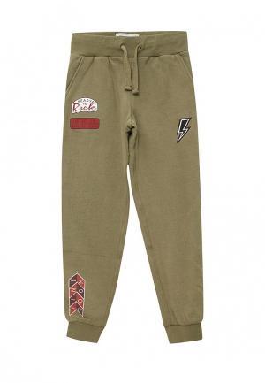 Брюки спортивные Pepe Jeans. Цвет: хаки