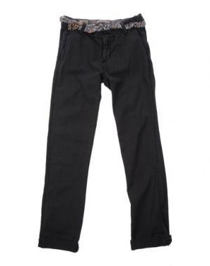 Повседневные брюки SCOTCH & SHRUNK. Цвет: стальной серый