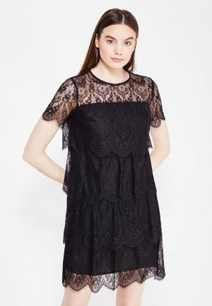 Платье Lusio. Цвет: черный