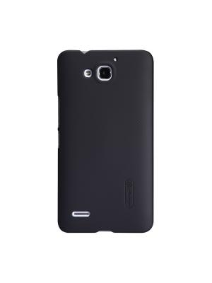 Huawei Honor 3X (G750) Super Frosted Shield Nillkin. Цвет: черный