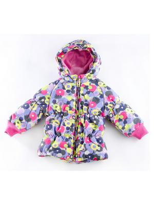 Куртка утепленная ВЕНЕЙЯ. Цвет: розовый