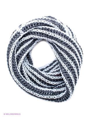 Шарф FOMAS. Цвет: темно-серый, серо-голубой