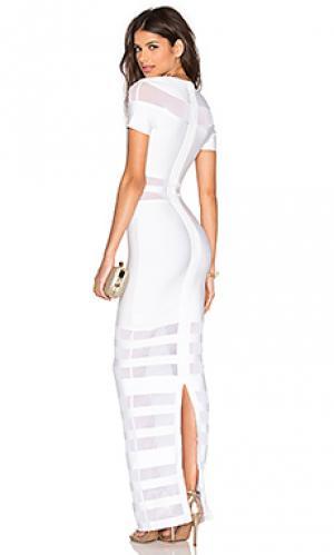 Вечернее платье berlin Bronx and Banco. Цвет: белый