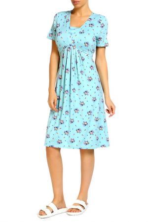 Платье LOLA PALTINGER. Цвет: синий
