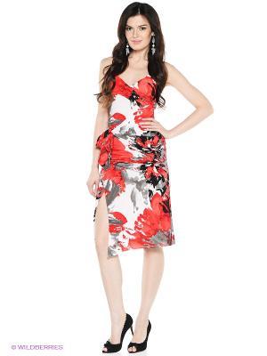 Платье VENUSITA. Цвет: красный