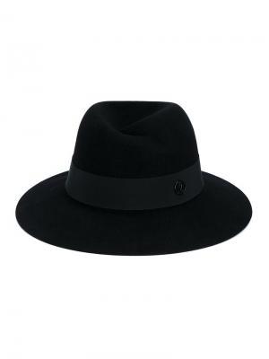 Шляпа Virginie Maison Michel. Цвет: чёрный