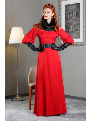 Платье Tasha Martens. Цвет: красный