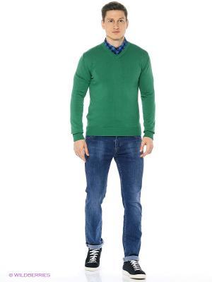 Пуловер Dairos. Цвет: зеленый