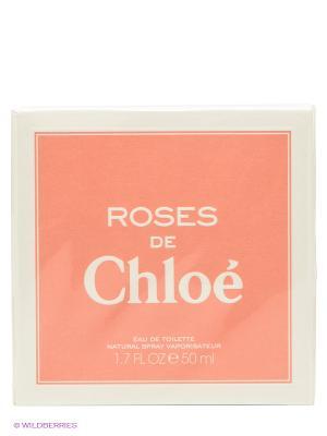Туалетная вода Roses De Chloe, 50мл. CHLOE. Цвет: светло-коралловый, белый