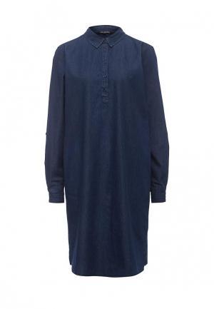 Платье джинсовое Top Secret. Цвет: синий