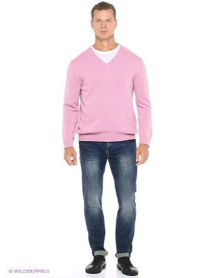 Пуловер Fine Joyce. Цвет: бледно-розовый