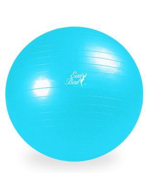 Мяч гимнастический  85 см Easy Body. Цвет: синий