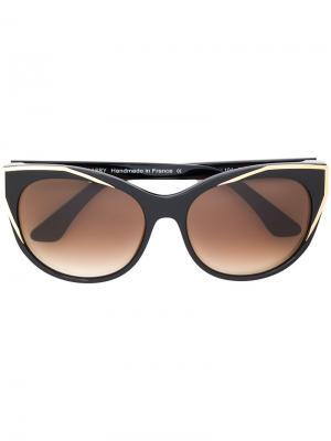 Солнцезащитные очки Polygamy Thierry Lasry. Цвет: чёрный
