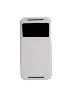 HTC One (M8) Nillkin Fresh Series Leather Case. Цвет: белый