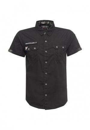Рубашка MeZaGuz. Цвет: черный