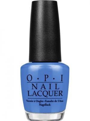Opi Лак для ногтей Rich Girls & Po-Boys, 15 мл. Цвет: голубой