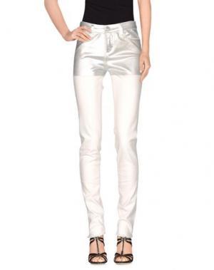 Джинсовые брюки ALYX. Цвет: слоновая кость
