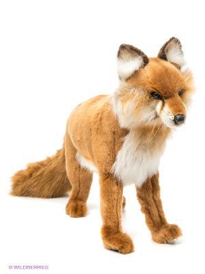 Рыжая лисица, 40см Hansa. Цвет: рыжий