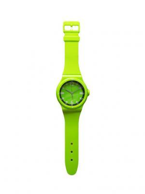 Часы настенные ArteNuevo. Цвет: салатовый