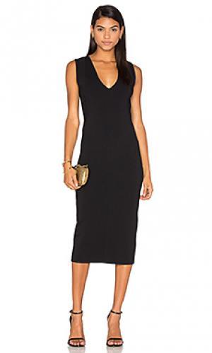 Облегающее платье the odessa TY-LR. Цвет: черный