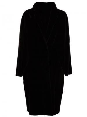 Меховое пальто 32 Paradis Sprung Frères. Цвет: чёрный