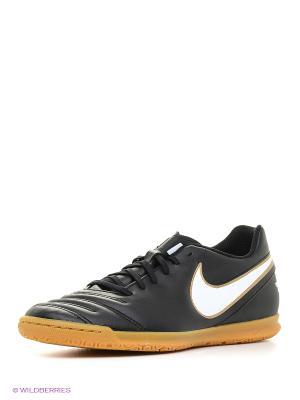 Кеды для зала TIEMPO RIO III IC Nike. Цвет: черный