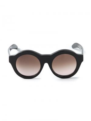 Солнцезащитные очки A2 Kuboraum. Цвет: чёрный