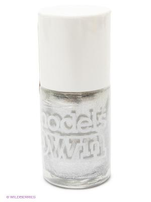 Лак для ногтей, Shimmer Sterling Silver Models Own. Цвет: серебристый