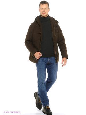 Куртка Tenson. Цвет: темно-коричневый