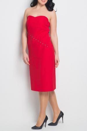 Платье Ardatex. Цвет: red