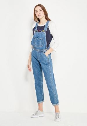 Комбинезон джинсовый Tommy Jeans. Цвет: синий