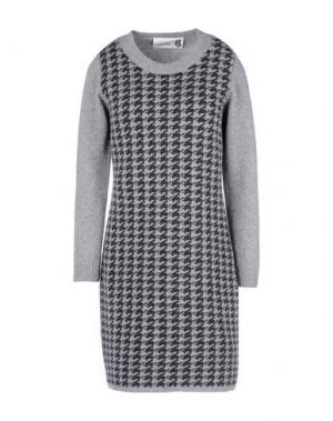Короткое платье 8. Цвет: серый