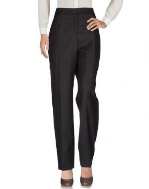 Повседневные брюки ROBERTO QUAGLIA. Цвет: темно-коричневый