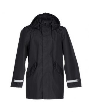 Легкое пальто DIMATTIA. Цвет: стальной серый