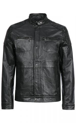 Мужская кожаная куртка Jorg weber
