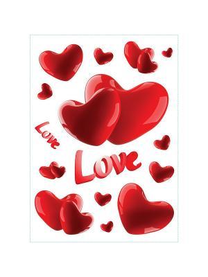 Любовь навсегда DECORETTO. Цвет: красный