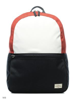 Рюкзак Tommy Hilfiger. Цвет: синий, красный