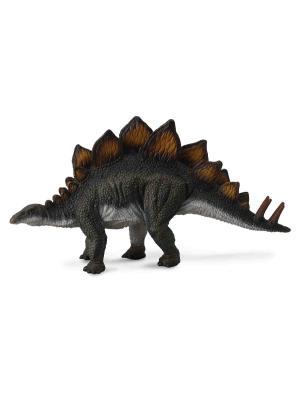 Стегозавр ,L 16 см Collecta. Цвет: темно-серый