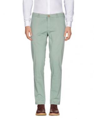 Повседневные брюки DOMENICO TAGLIENTE. Цвет: светло-зеленый