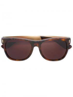 Солнцезащитные очки Classic Francis Retrosuperfuture. Цвет: коричневый